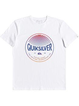 Quiksilver Camiseta manga corta COLORSINSTEREOS hombre