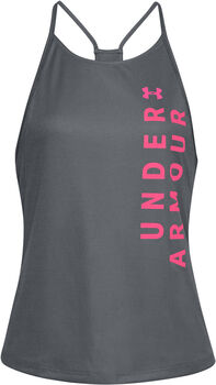 Under Armour Camiseta dividida Speed Stride mujer