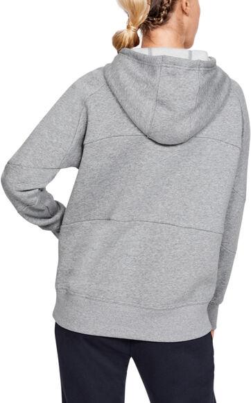 Sudadera con capucha UA Rival Fleece Color Block para mujer