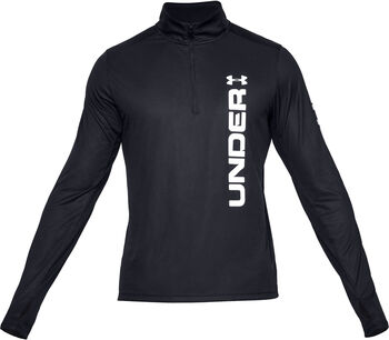 Under Armour Camiseta con cremallera de ¼  Speed Stride Split para hombre