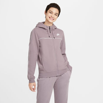 Sudadera con capucha y cremallera Nike Sportswear Millen mujer Rosa