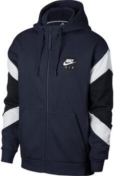 Nike SportsWear Air Hoodie FZ FLC hombre Azul