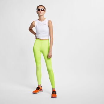 Nike Mallas Running  Run Tech Pack Knit mujer Amarillo