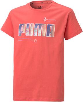 Puma Camiseta Manga Corta Alpha niña