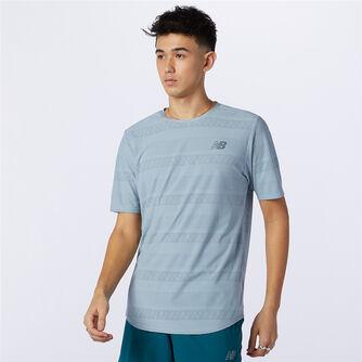 Camiseta Manga Corta Speed Jacquard