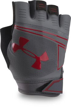 Under Armour Coolswitch Flux Guantes entreno hombre Gris