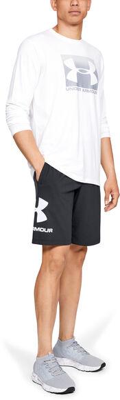 Pantalón corto de algodón con gráfico Sportstyle