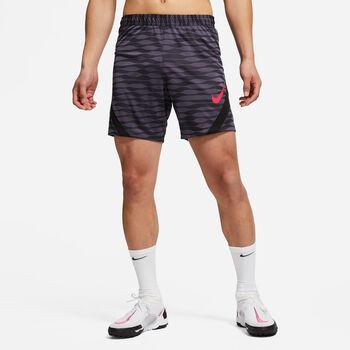 RENDIMIENTO QUE ABSORBE EL SUDOR PARA EL CAMPO. El pantalón corto Nike Dri-FIT Strike te prepara para el partido con un tejido que absorbe el sudor y una cintura transpirable que te ayuda a mantenerte seco y cómodo.  Negro