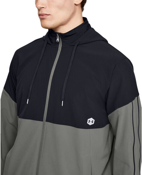 Sudadera Athlete Recovery Woven Warm Up