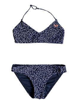 Roxy Seaside Lover - Conjunto de Bikini Triangular Bralette para Chicas 8-16 niña