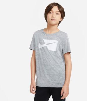 Nike Camiseta Manga Corta Core niño Gris
