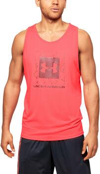Under Armour Camiseta de tirantes UA Tech™ 2.0 Graphic hombre Rojo