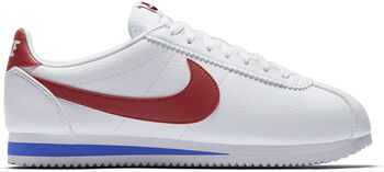 Nike Classic Cortez Leather  hombre Blanco