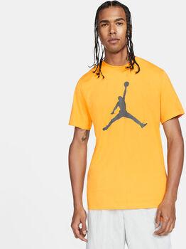 Nike Camiseta manga corta J JUMPMAN  CREW hombre Amarillo