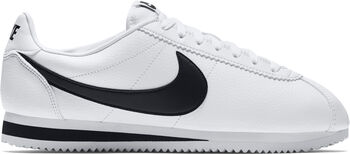 Nike Classic Cortez Leather Hombre Blanco