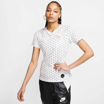 Nike  Dri-FIT Breathe FFF Stadium mujer Blanco