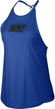 Nike Graphic Training Tank mujer Azul