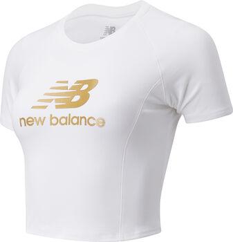 New Balance Camiseta Manga Corta Athletics Podium mujer