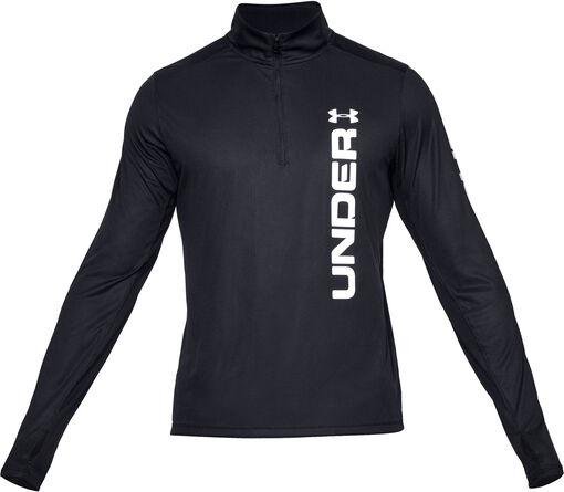 Under Armour - Camiseta con cremallera