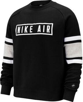Camiseta m/lNSW NIKE AIR CREW FLC hombre Negro