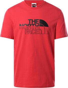 The North Face Camiseta Manga Corta Campay hombre Rojo