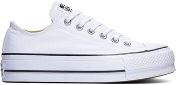 Converse Zapatillas CTAS LIFT OX WHITE/GARNET/NAVY mujer Blanco