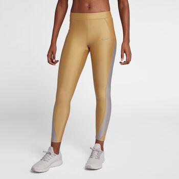 Nike Speed 7_8 Metallic mujer Amarillo