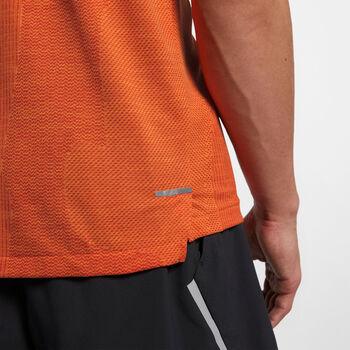 Nike M NK TECHKNIT CL ULTRA TOP SS hombre Naranja