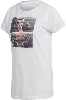 adidas Athletics Vibe Camiseta Manga Corta Mujer Blanco