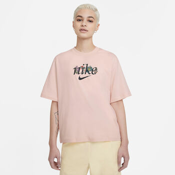 Nike Camiseta Manga Corta Boxy Nature mujer Naranja