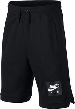 Nike Air Short Ft Junior niño Negro