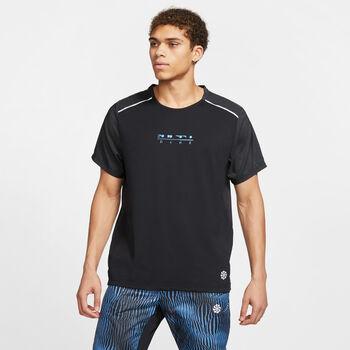 Nike Camiseta manga corta Rise 365 hombre Negro