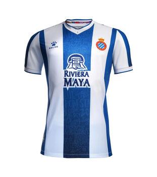 Kelme Primera Equipación RCD Espanyol 2019/2020 hombre
