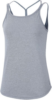 Nike Camiseta de tirantes Yoga Strappy Rip mujer Azul