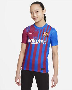 Nike Camiseta Primera Equipación Fc Barcelona 21/22 Azul