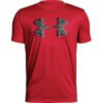 Under Armour Camiseta m/c Tech Big Logo Solid Tee niño
