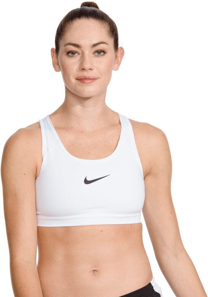 Nike - Sujetador PRO CLASSIC SWOOSH - Mujer - Sujetadores deportivos - Blanco - XL