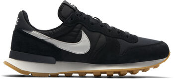 Nike Sneakers Internationalist mujer Negro