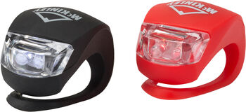 McKINLEY SL1SAFETY LAMPS (1 BLACK,1RED) Blanco