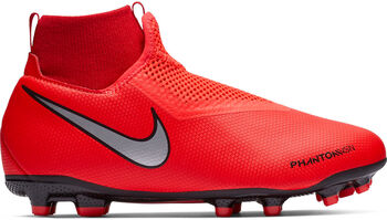 cd4eda9c09921 Nike Botas de fútbol JR Phantom Vision Academy DF FG MG niño Naranja