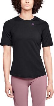 Under Armour Camiseta de manga corta UA RUSH para mujer