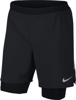Nike  Flex Distance Shor 7IN 2IN1  hombre Negro