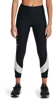 Under Armour Leggings HeatGear® Armour Taped Ankle mujer Negro