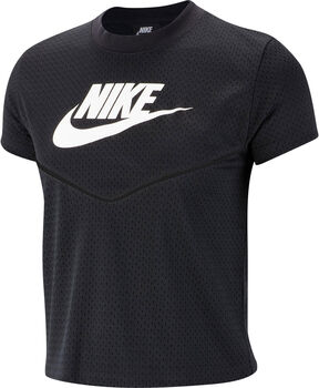 Nike Camiseta m/cNSW HRTG TOP SS MESH mujer