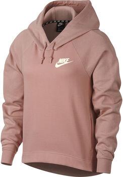 Nike w nsw optc hoodie mujer Rojo