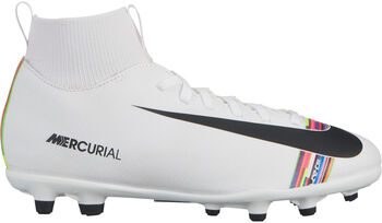 Nike Botas fútbol Superfly 6 Club CR7 MG s niño Blanco