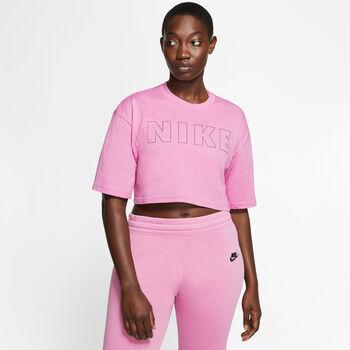 Nike Camiseta Manga Corta Air Cropped mujer