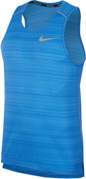 Nike Camiseta de tirantes DRY MILER hombre Azul