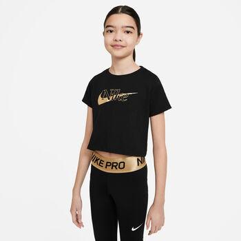 Nike Camiseta Manga Corta Logo niña
