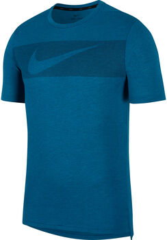 Nike Camiseta de manga corta de entrenamiento  Dri-FIT Breathe hombre Verde